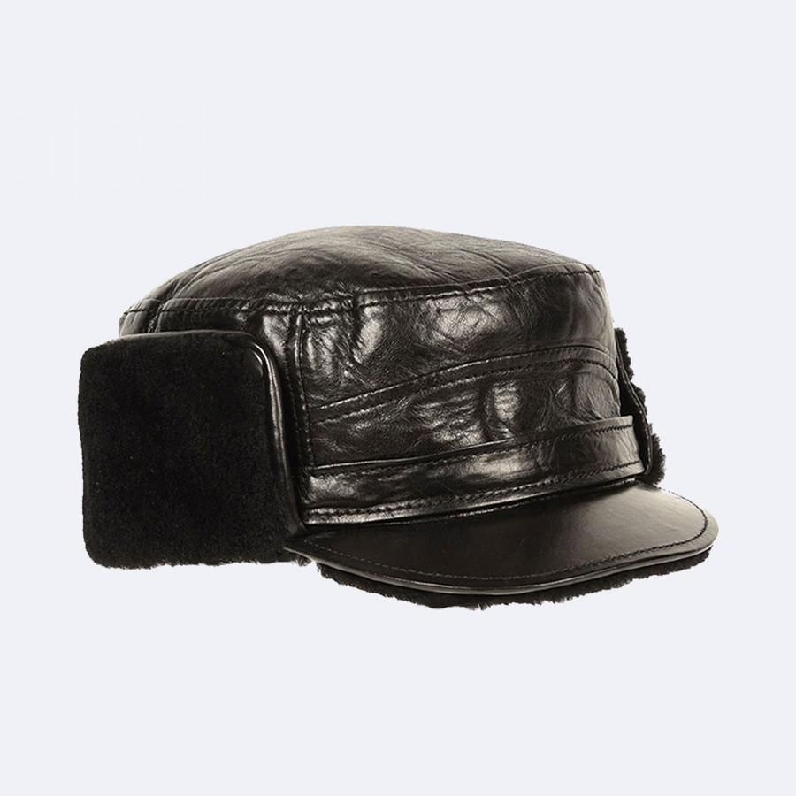 Alex Lambskin hat with sheepskin interior