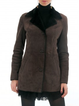 Mary Shearling Coat