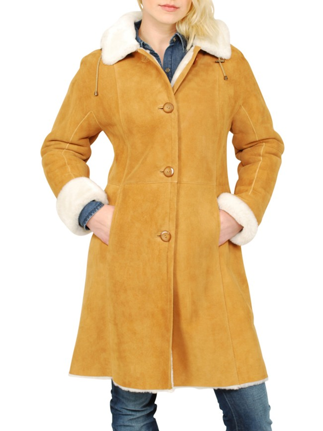 Danica Shearling Coat