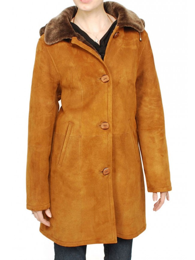 Juniper Shearling Coat