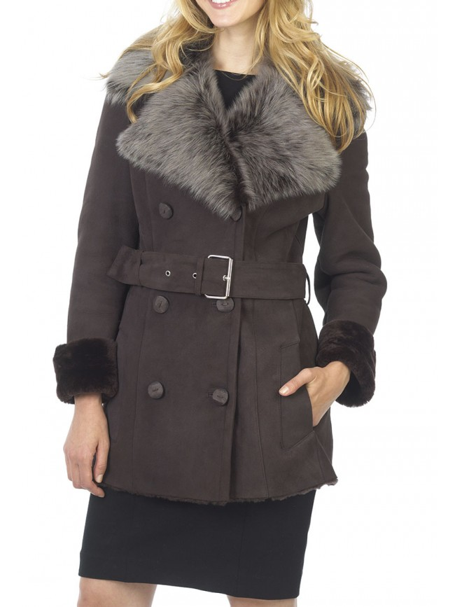 Elanor Shearling Coat