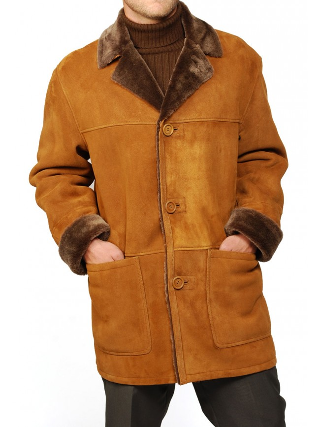 Steven Shearling Coat