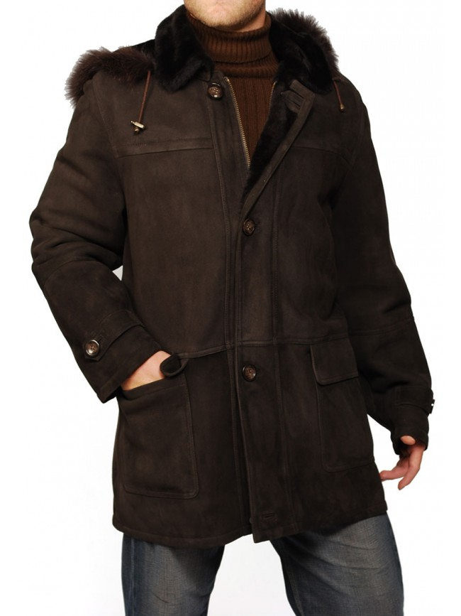 David Shearling Coat