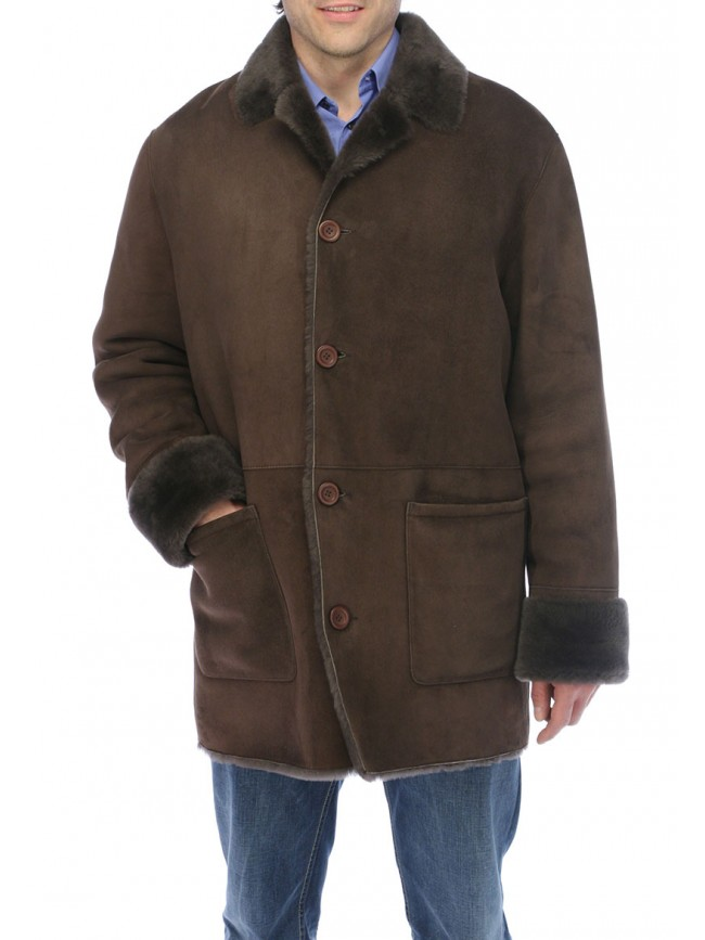 Ryan Shearling Coat