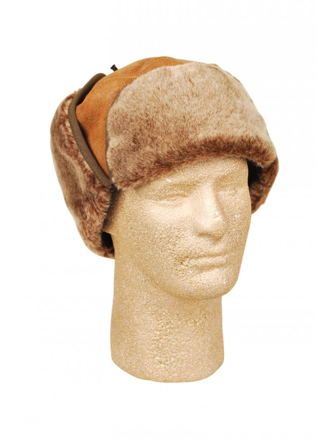 Terry Sheepskin Hat