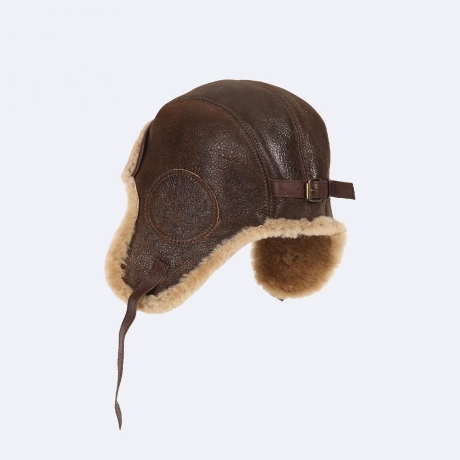 Bomber 52 Sheepskin Hat