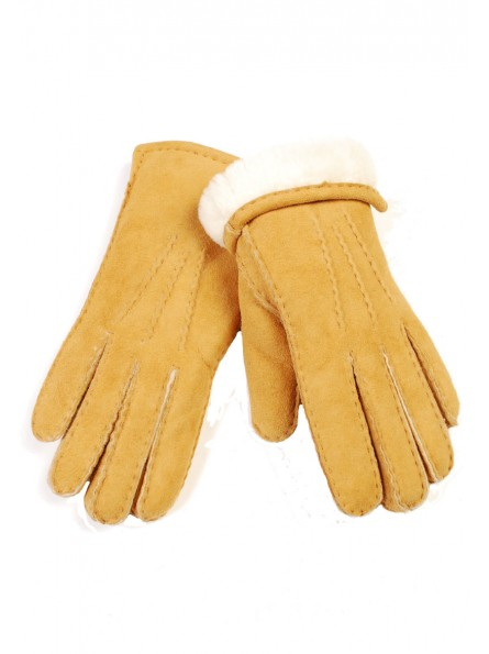 Camellia Sheepskin Gloves