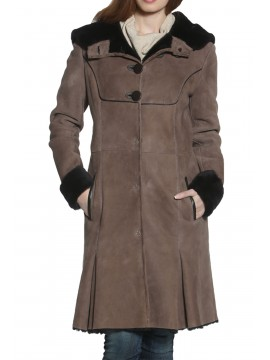 Begonia Shearling Coat