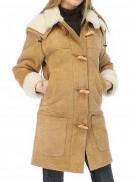 Azalea Shearling Coat