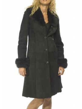 Martha Shearling Coat
