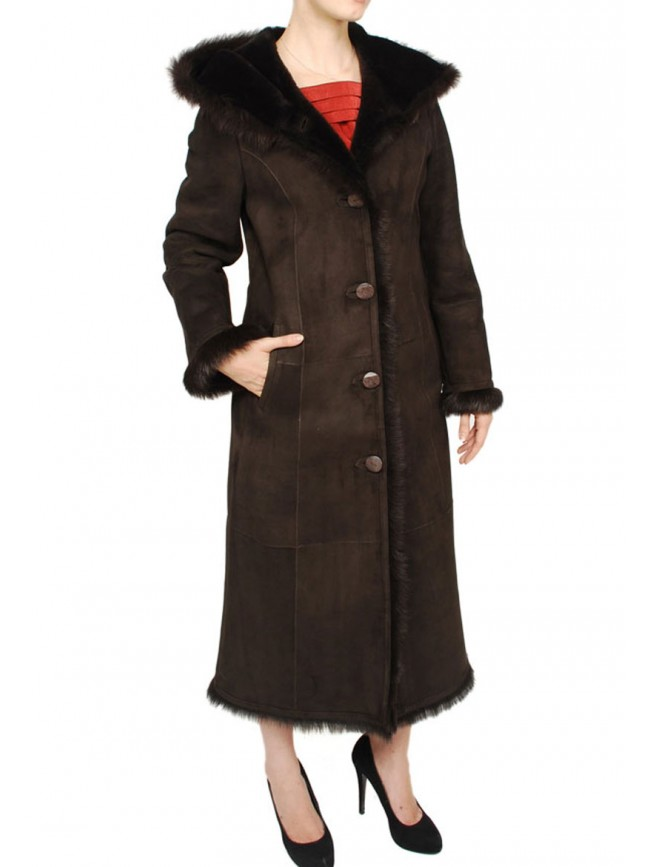 Zinnia Shearling Coat