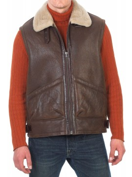 James Shearling Vest