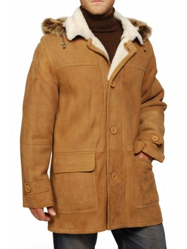 Charles Shearling Coat