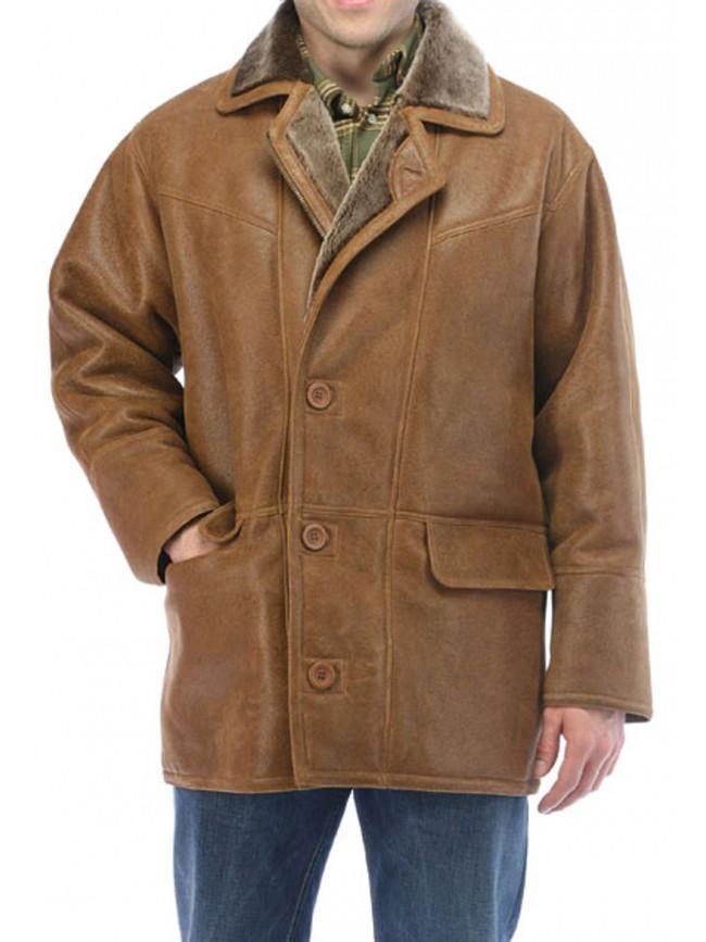 Cliff Shearling Coat