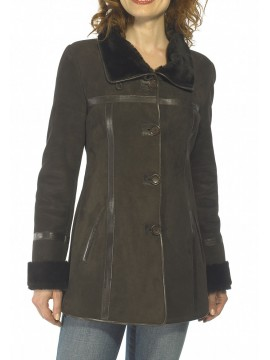 Cindy Shearling Coat