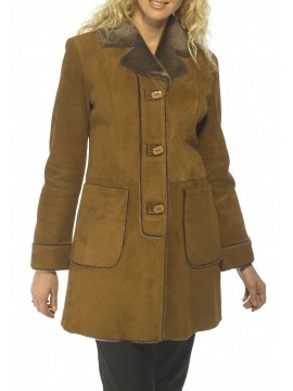 Lorinda Shearling Coat
