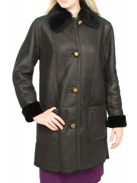 Magnolia Shearling Coat
