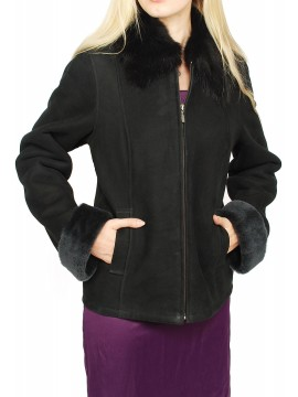 Flora Shearling Jacket