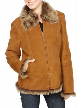 Marigold Shearling Jacket