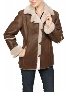 Clover Shearling Jacket