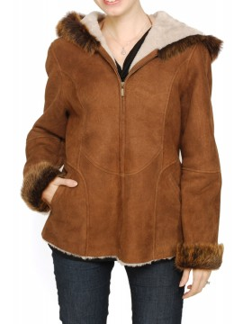 Ginger Shearling Jacket