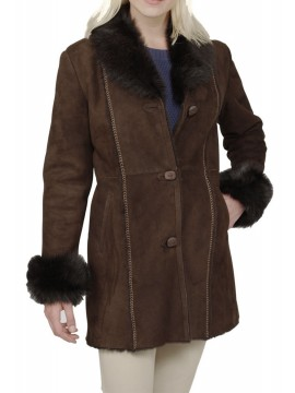 Eliza Shearling Coat