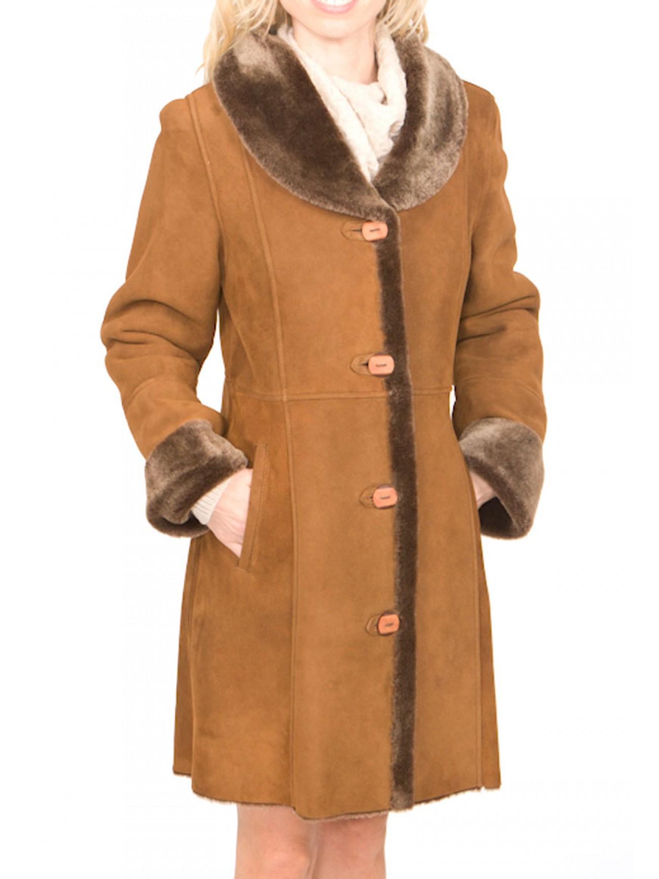 Women's Zahara Shearling Coat