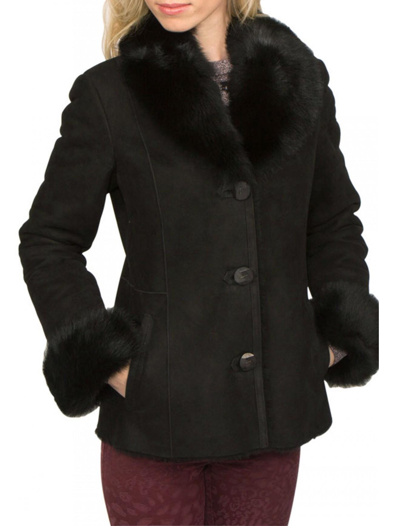 Shearling coats and shearling jackets