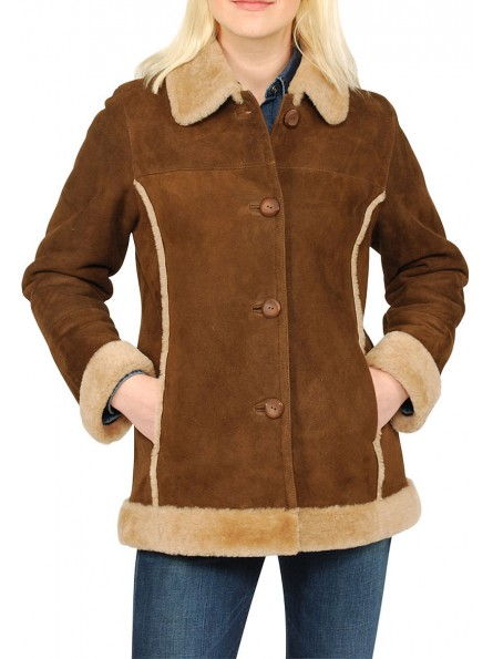 Blossom Shearling Jacket