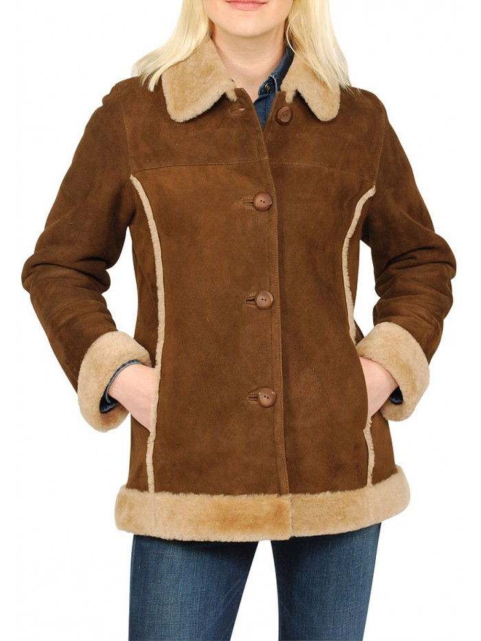 Shearling coats and shearling jackets
