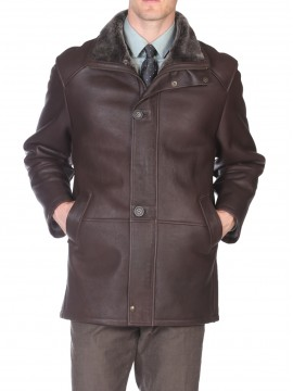 Oxford Shearling Coat