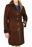 Hazel Shearling Coat