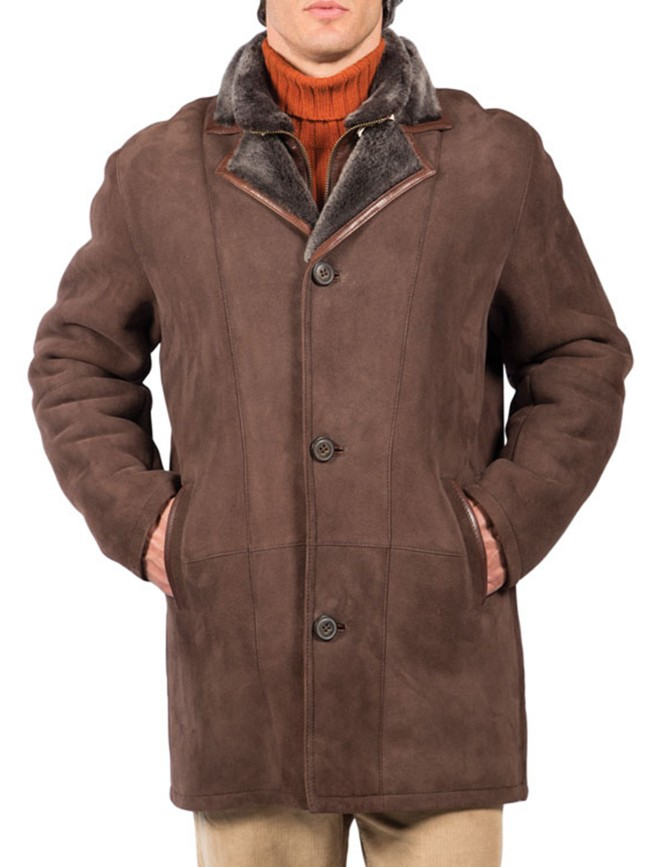 Bradford Shearling Coat