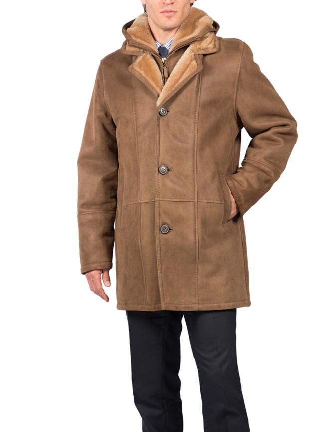 Norfolk Shearling Coat