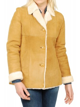 Ruby Shearling Jacket