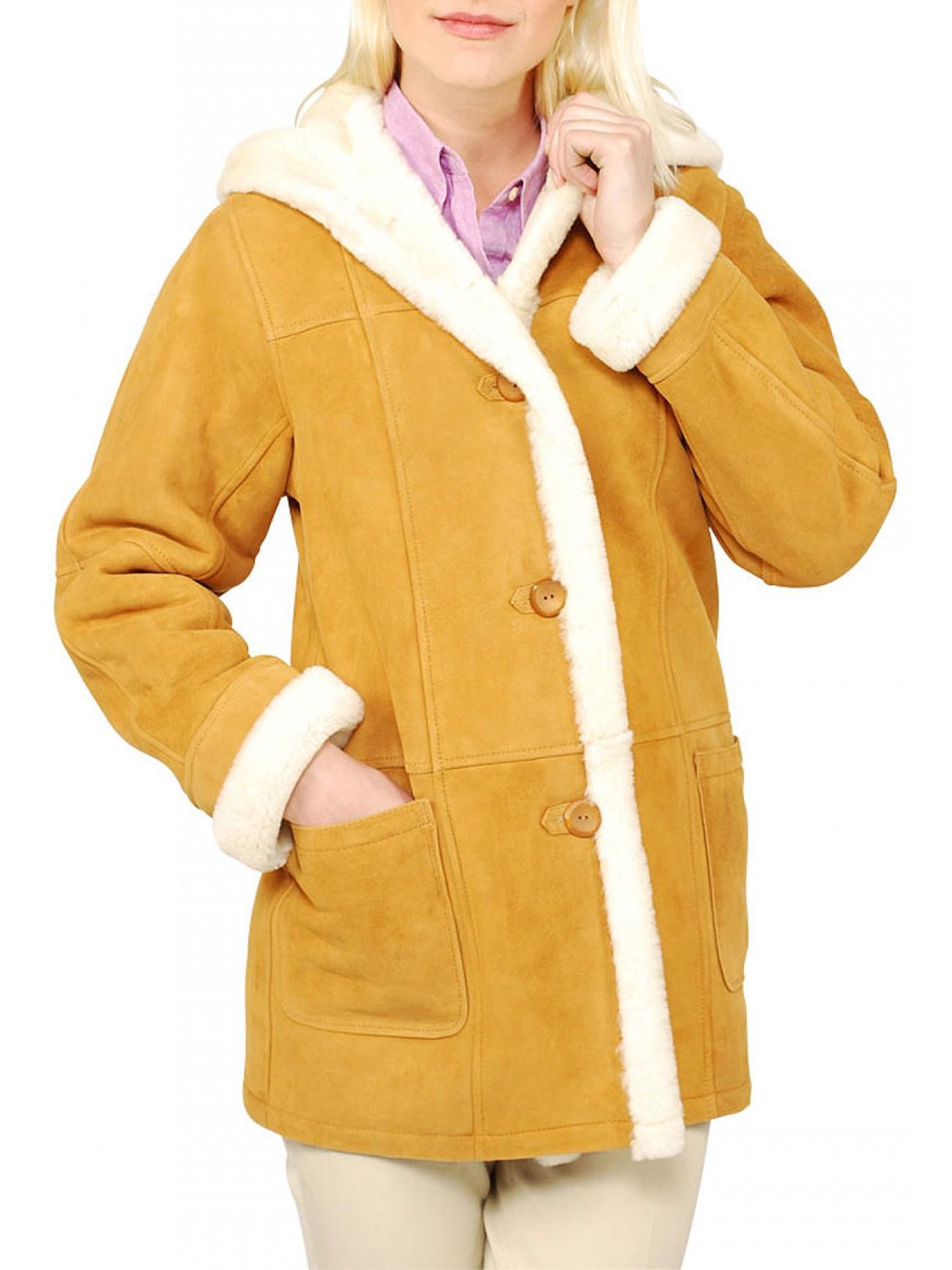 Sheepskin coat women
