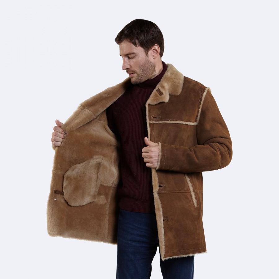 Alfred Sheepskin Coat