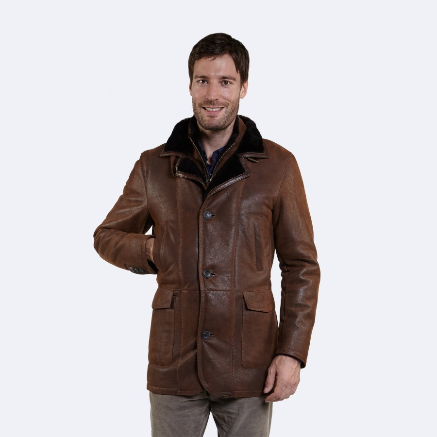 Desmond Sheepskin Coat
