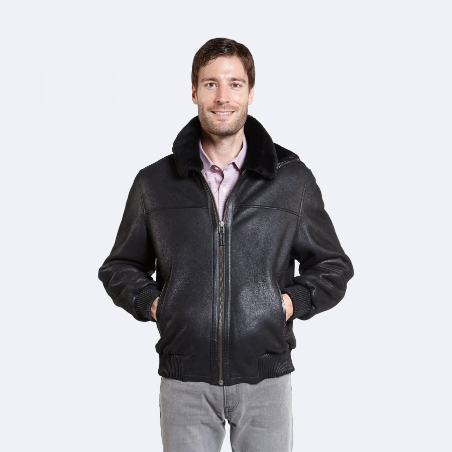 Edwin Sheepskin Jacket