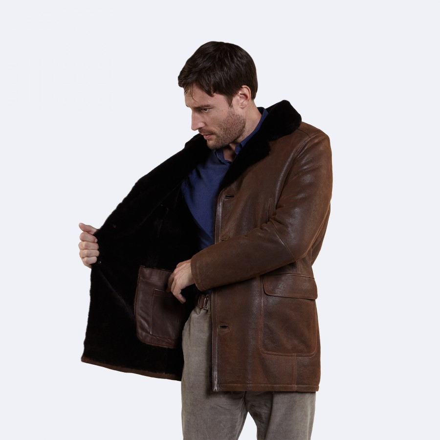 Roger Sheepskin Jacket