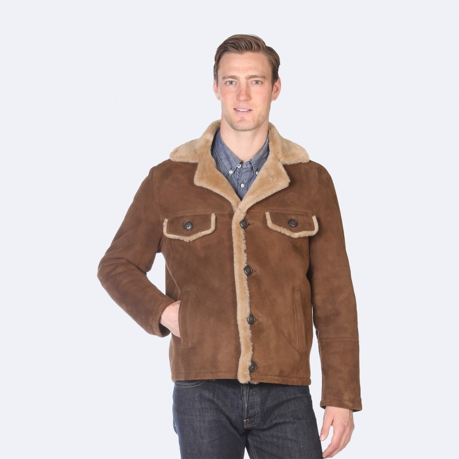 Danny Sheepskin Jacket