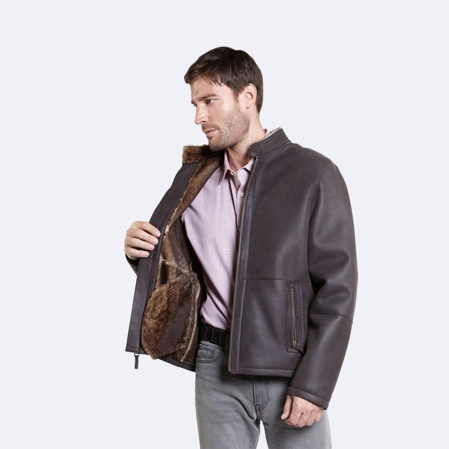 Victor Sheepskin Jacket