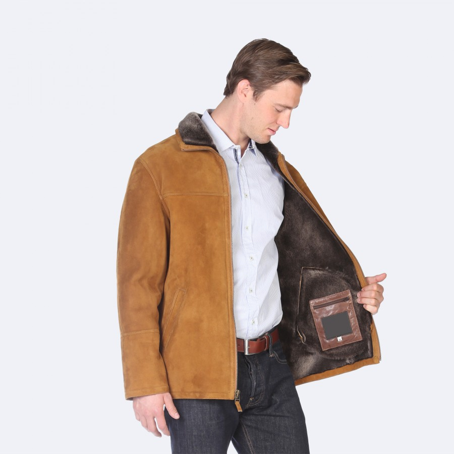 Keith Sheepskin Jacket