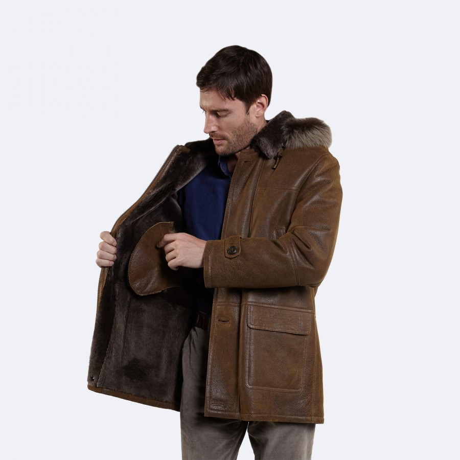 Howard Sheepskin Coat