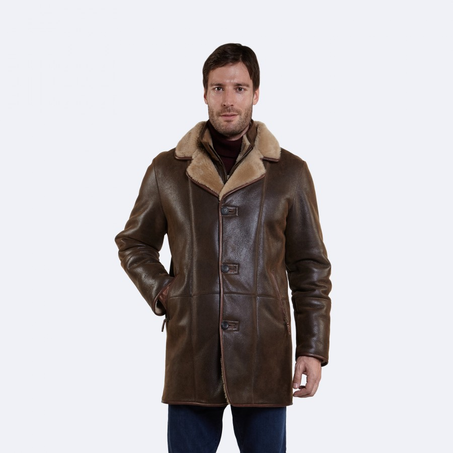 Warren Sheepskin Coat