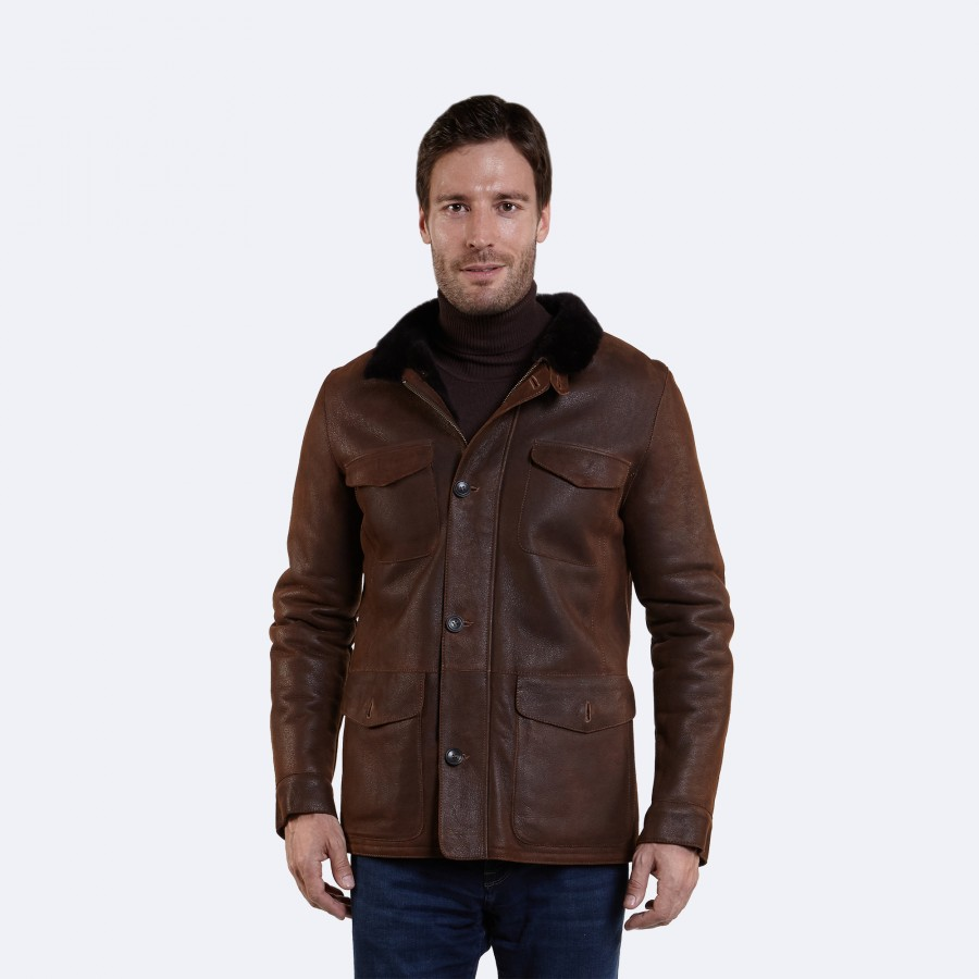Craig Sheepskin Coat