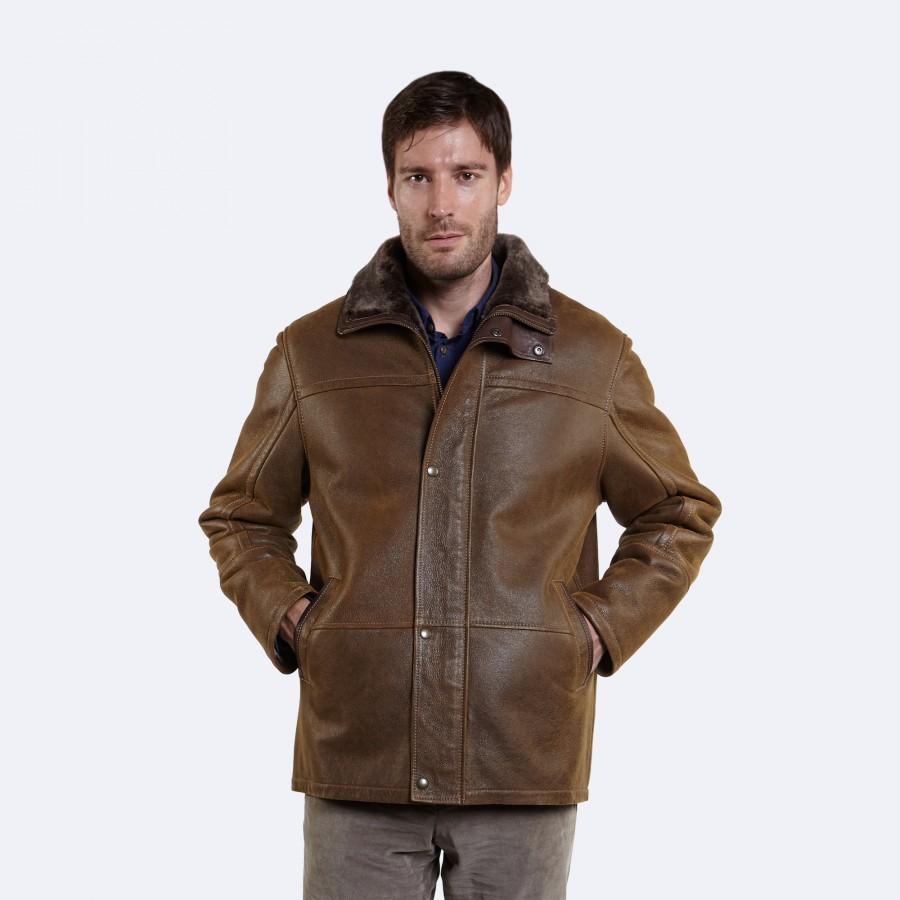 David Sheepskin Jacket