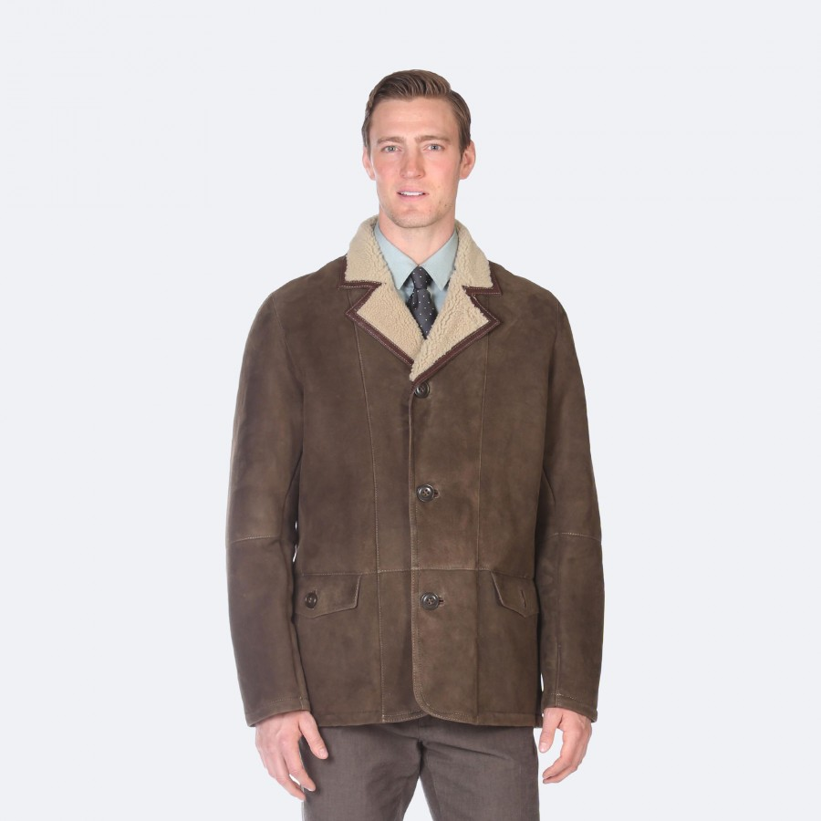 Kevin Sheepskin Coat