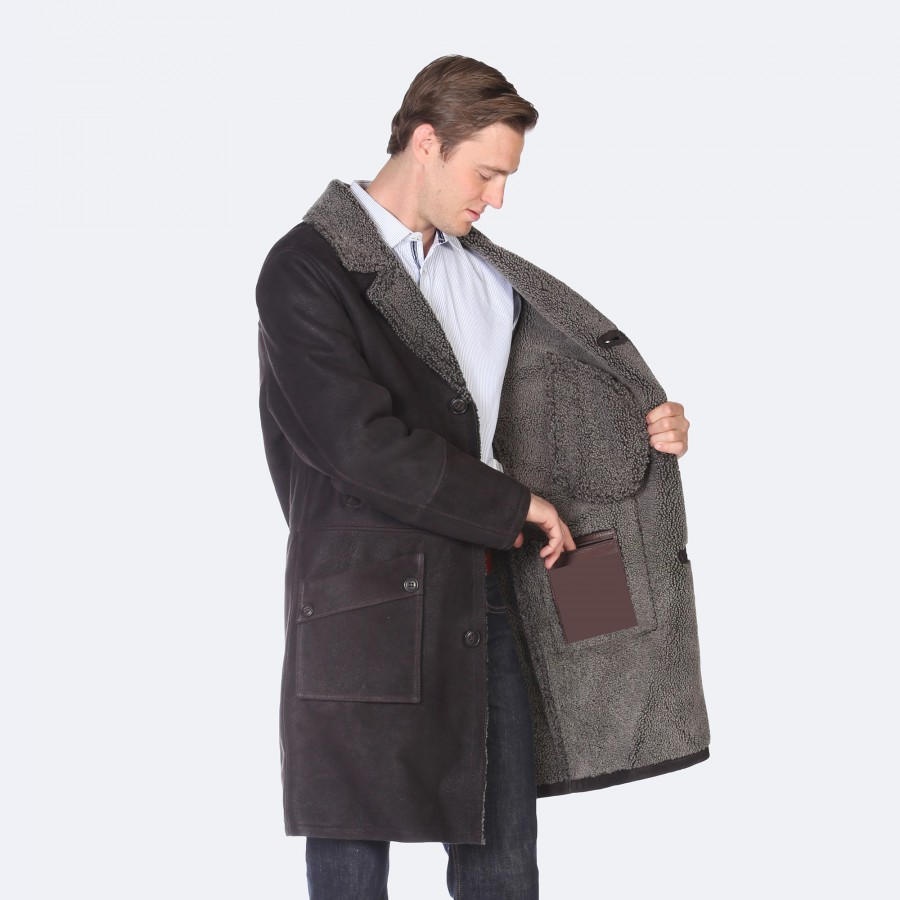 Nigel Sheepskin Coat