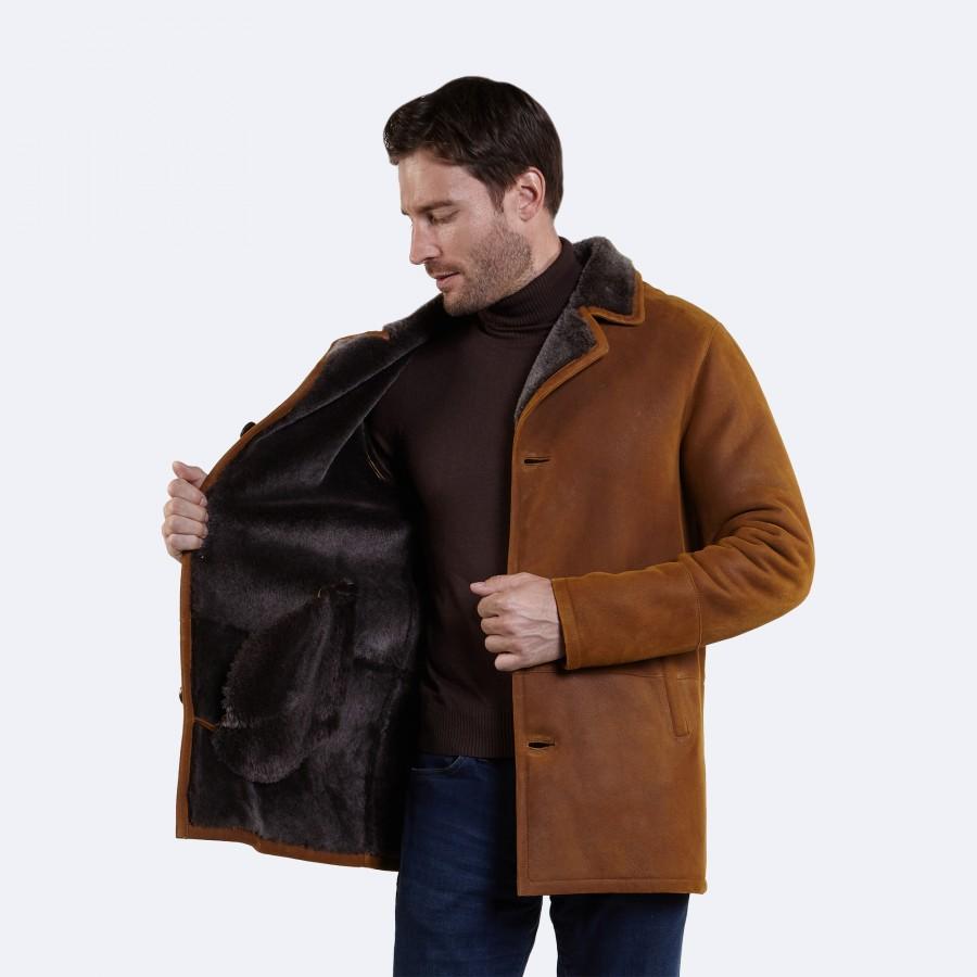 Sidney Sheepskin Coat